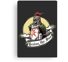 Praise the Sun Canvas Print