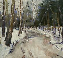 Winter Creek by Michael Creese