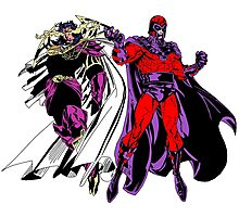 Exodus and Magneto Photographic Print