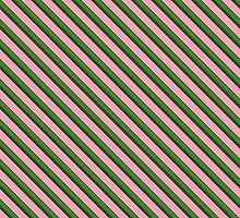 Pink Roses in Anzures 3 Stripes 2D by Christopher Johnson