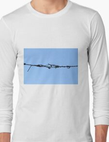 barbed wire Long Sleeve T-Shirt