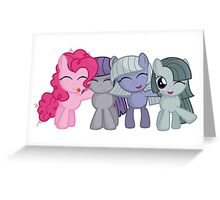 Pinkie Pie family Greeting Card