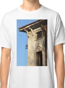 detail of ruined house Classic T-Shirt