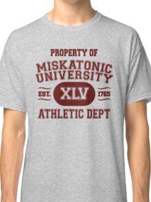 Property of Miskatonic University Athletic Dept Classic T-Shirt