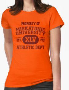 Property of Miskatonic University Athletic Dept Womens Fitted T-Shirt