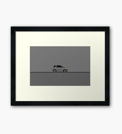 Scion iQ Framed Print