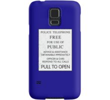 Police Telephone - Free For Public Use Samsung Galaxy Case/Skin