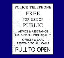 Police Telephone - Free For Public Use by simonbreeze
