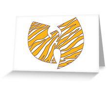 Washington Wu-Baz Greeting Card