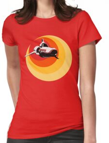 Turbo Boost Womens Fitted T-Shirt