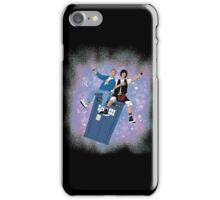 Doctor Who - Bill & Ted Ride The Tardis T-shirts iPhone Case/Skin