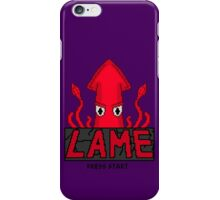 LAME Squid Pixel Art iPhone Case/Skin