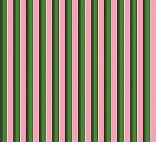 Pink Roses in Anzures 3 Stripes 2V by Christopher Johnson