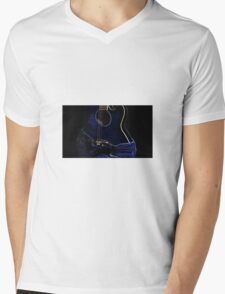 Curves Mens V-Neck T-Shirt