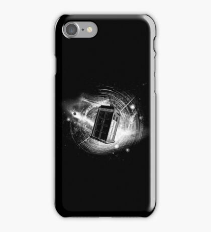 Doctor Who - Time Travel T-shirts iPhone Case/Skin