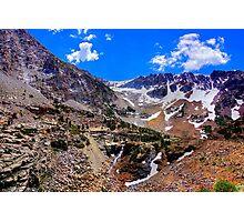 Sierra Nevada mountain range Photographic Print