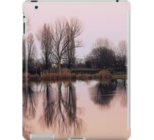 reflections on the lake iPad Case/Skin