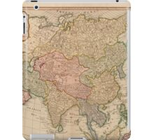 Vintage Map of Asia (1799)  iPad Case/Skin