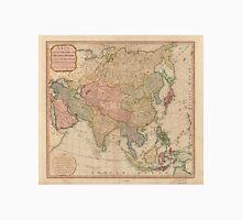 Vintage Map of Asia (1799)  Unisex T-Shirt