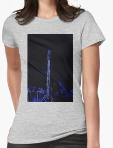 lights at the carnival Womens Fitted T-Shirt