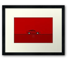 Acura Integra Framed Print