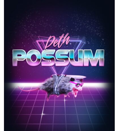 Deth Possum VICE Sticker