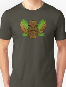 Tiki of the Black Lagoon Unisex T-Shirt
