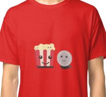 Cinema movie pocorn with faces Classic T-Shirt
