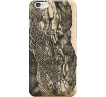Vintage Pictorial Map of Aspen Colorado (1893) iPhone Case/Skin