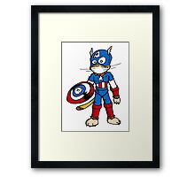 Chatptain Americhat Framed Print