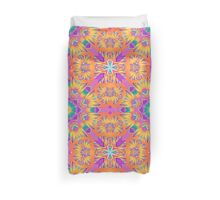 Cute colourful kaleidoscope pattern Duvet Cover