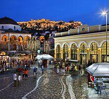 Monastiraki, Plaka, Acropolis - Athens by Hercules Milas