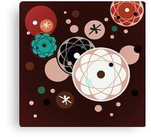 Atomic Chocolate Canvas Print