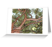Bodhi Tree Greeting Card