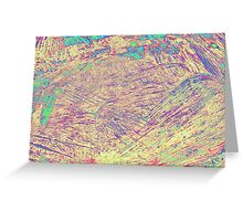 abstract wooden background Greeting Card