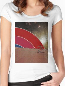Rianbow Run Women's Fitted Scoop T-Shirt