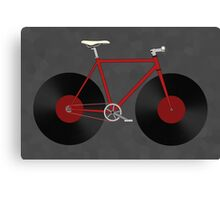 Record Fixie Canvas Print
