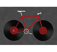 Record Fixie Photographic Print