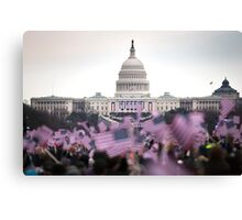 United States Presidential Inauguration Canvas Print