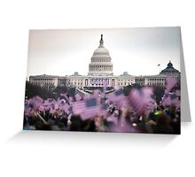 United States Presidential Inauguration Greeting Card