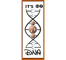 MG DNA Photographic Print