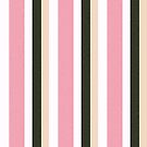Pink Roses in Anzures 3 Stripes 4V by Christopher Johnson