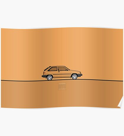 Toyota Tercel Poster