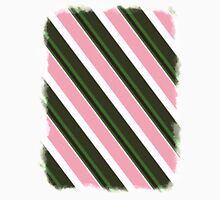 Pink Roses in Anzures 3 Stripes 5D Unisex T-Shirt