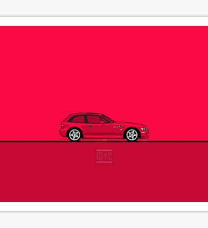 BMW M Coupe Sticker