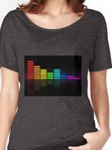 music bars Women's Relaxed Fit T-Shirt