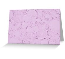 abstract background stones for texture Greeting Card