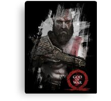 The God of War Canvas Print