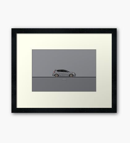 Mazdaspeed 3 Framed Print
