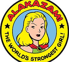Alakazam - Thunder Girl Logo by bigbangcomics